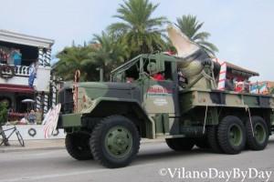 Saint Augustine - Christmas Parade -27- VilanoDayByDay