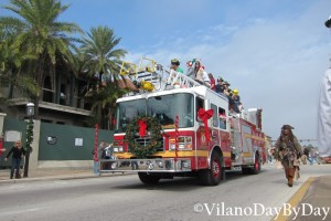 Saint Augustine - Christmas Parade -28- VilanoDayByDay