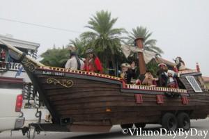 Saint Augustine - Christmas Parade -5- VilanoDayByDay