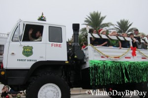 Saint Augustine - Christmas Parade -6- VilanoDayByDay