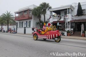 Saint Augustine - Christmas Parade -8- VilanoDayByDay