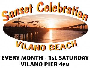 Vilano Beach Sunset Celebration