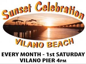 Vilano Beach Sunset Celebration