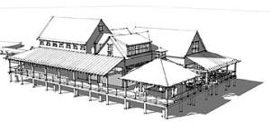 Plans for Santa Maria Restaurant - VilanoDayByDay
